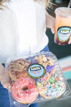 In the Mix with California Donuts...I want one now!  #losangeles #sweets