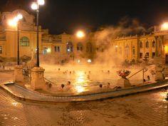 Szechenyi Baths - le terme di sera
