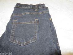 DG 2 DIANE GILMAN 2T BLACK Gold Hardware Straight leg Stretch Jean
