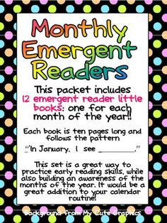 1000+ images about Emergent Readers on Pinterest ...