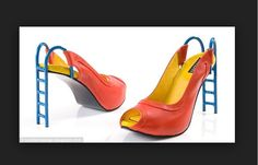 Want to wear these wacky shoes