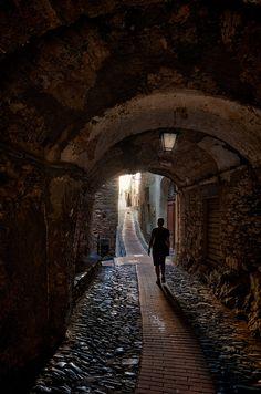 Triora, Liguria, Italy town of witches Imperia