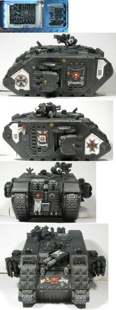 Space Marines || Black Templars || Land Raider Crusader