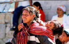 Tharahumara woman and baby