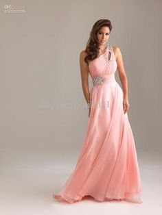 Romantic Black-Tie Bridesmaid Dress
