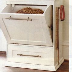 Great, attractive way to store your Dog food!