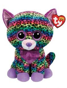 a052f792085 Trixie Leopard 16 Inch Beanie Boo Girl Beanie