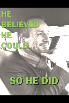Believe in yourself. Rolf Kipp did and he became a recipient of a million dollar bonus! Believe it. Achieve it.