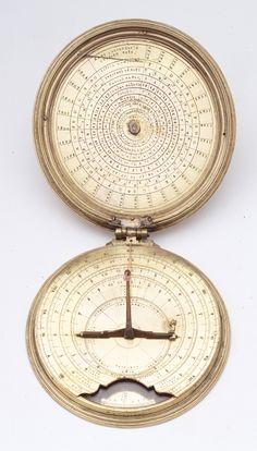 Astronomical compendium dial - National Maritime Museum