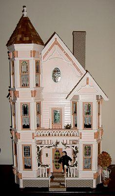 Dollhouses On Pinterest Victorian Dollhouse Dollhouses