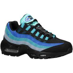 low priced 0b5c5 bf7c0 Nike Air Max 95 - Mens - BlackCatalinaGym BlueHyper Cobalt