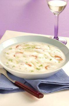 Spargel-Kerbel-Suppe mit Tomaten Rezept | Dr. Oetker
