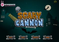 Play #ScaryCannon. Pull the cannon nobe to the fire.