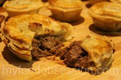 Aussie meat pies                                            For Tim!!