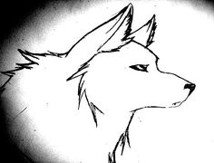 wolf drawing quick drawings deviantart wolves easy simple scary sketches cartoon