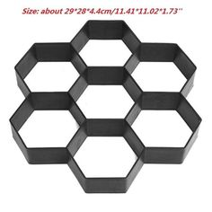 Schablone 40 x 40 cm Design 38 x 38 cm Ma/ße Home Decor Wandfliese 002
