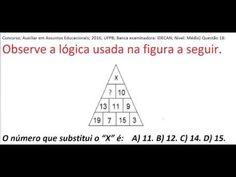 Curso de Raciocínio Lógico Sequência de letras e números Teste Psicotécn... https://youtu.be/LsDj819fGK8