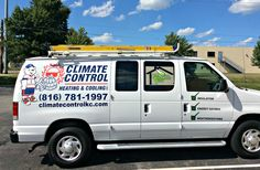 Van Graphics for Climate Control.  Update your new Fleet Vehicles.