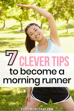 Want to become a morning runner, but struggle to get out of bed in time? With a little bit of willpower and these helpful tips, you can absolutely make it happen. Here's how to run in the morning. #morningrun #runningtips #runningforbeginners Running For Beginners, Running Tips, Become A Runner, Morning Running, Willpower, Helpful Tips, Clever, How To Become, Shit Happens