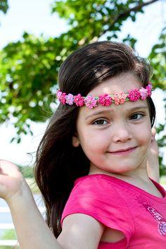 Ravelry: Summer Girl - crocheted headband by Monika Sirna