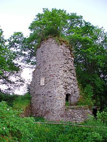 Königsburg is a ruined medieval castle southeast of Königshütte, a village in the borough of Oberharz am Brocken, in Harz district in the German state of Saxony-Anhalt.