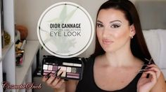 DIOR CANNAGE COUTURE COLLECTION EYELOOK FEATURING DIOR CHARLOTTE TILBURY...