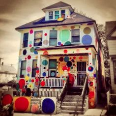 Dotty Wotty House, Detroit, USA - Awesome!