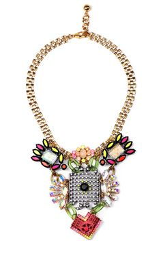Hand-Painted Revolution Necklace by Lulu Frost for Preorder on Moda Operandi