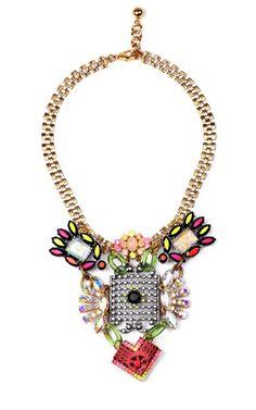 Hand-Painted Revolution Necklace by Lulu Frost - Moda Operandi