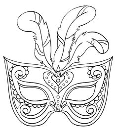 Fasching Maske Ausmalbilder Feder Mascara can be a cosmetic commonly would once improve the eyelashe Coloring Pictures For Kids, Coloring For Kids, Coloring Pages To Print, Free Coloring Pages, Airplane Crafts, Free Adult Coloring, Printable Masks, Mask Drawing, Masks Art