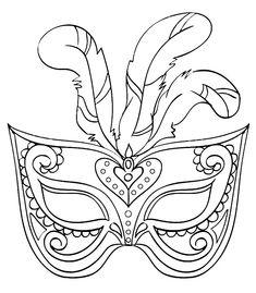 Moldes Para Mscaras De Carnaval