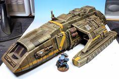 DS9 shuttle model modified
