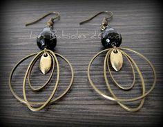 IMG_4862 Beaded Jewelry Designs, Metal Jewelry, Teardrop Earrings, Beaded Earrings, Indian Jewelry Sets, Soldering Jewelry, Art Nouveau Jewelry, Bijoux Diy, Designer Earrings