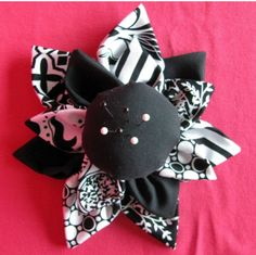 Fabric Flower Pin Cushion
