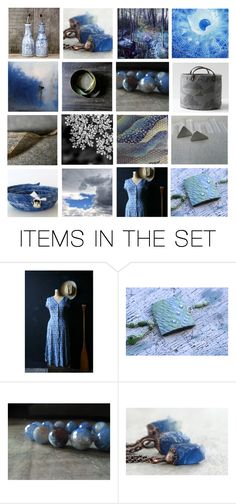 """Rustic Blue"" by crystalglowdesign ❤ liked on Polyvore featuring art and rustic"