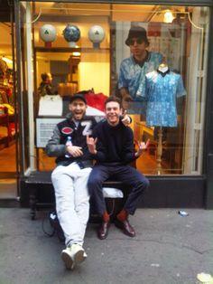 GARMSVILLE: Palace Wayward Boys Choir / Umbro collab @ The Hide Out Store