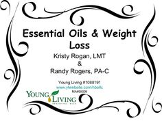 Young Living Essential Oils: Weight Loss Protocol