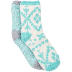 Free Press Pattern Fuzzy Socks - Pack of 2 ($2.78) ❤ liked on Polyvore featuring intimates, hosiery, socks, accessories, ivory pristine nordic, print socks, patterned hosiery, padded socks, knit socks and cushioned socks