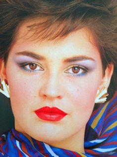 80s Eye Makeup, 1980 Makeup, Disco Makeup, Retro Makeup, Dark Makeup, Vintage Makeup, Makeup Inspo, Makeup Inspiration, Makeup Ideas