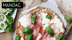 matplan: Juksepizza med salat - KK.no