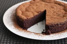 Scientifically Sweet: 4-Ingredient Chocolate Mousse Cake (gluten-free)