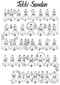 Shorin Ryu Kata Diagrams | Artes Marciais On Line - Postagens: Junho 2010