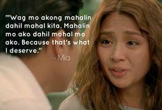 Hugot Quotes Tagalog, Patama Quotes, Tagalog Love Quotes, Bts Quotes, Movie Quotes, Hugot Lines Tagalog Love, Tagalog Words, Mahal Kita, Complicated Love