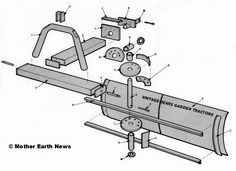 homemade tractors plans - Google Search