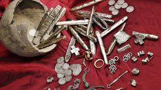 Žatecký poklad. Foto archiv muzeum Žatec Collection, Pictures, Archive