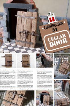 Construction Materials, Cellar, Miniatures, Doors, Stone, Projects, Ideas, Arquitetura, Slab Doors