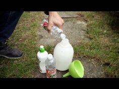 Jak zrobić preparat na chwasty domowym sposobem - YouTube Bulb Flowers, Spray Bottle, Humor, Youtube, Garden, Garten, Humour, Lawn And Garden, Funny Photos