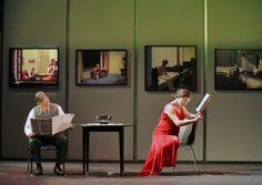 World Premiere Of The 'hoppera' Edward Hopper, Opera And Paintings, Edward Hopper Paintings Women American Realism, American Art, Edward Hopper Paintings, Tableaux Vivants, Ashcan School, Mona Lisa, National Gallery Of Art, Manet, Art Icon