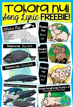Green Grubs Garden Club: Let's celebrate Māori language week! Language Activities, Infant Activities, Maori Songs, Waitangi Day, Big Whale, Whale Song, Action Songs, Learning Resources, Classroom Resources