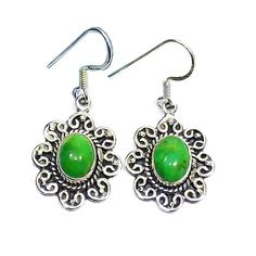 925 Sterling Silver Earrings - Handmade Gemstone Filigree Earrings